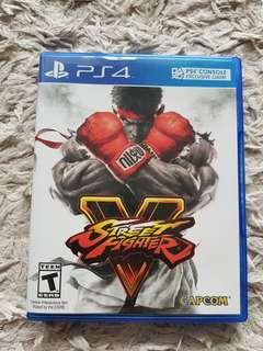 PS4 - Street Fighter V