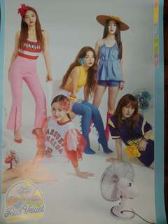 [WTS] RED VELVET SUMMER MAGIC LIMITED EDITION OFFICIAL POSTER