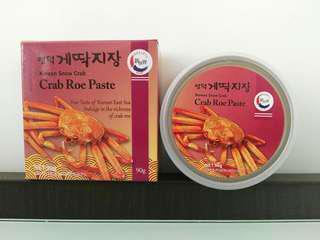 韓國新世界即食蟹膏醬 90g Korean Snow Crab Crab Roe Paste