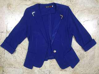 Electric Blue Blazer