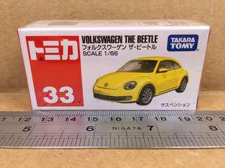 Tomica Volkswagen The Beetle No.33
