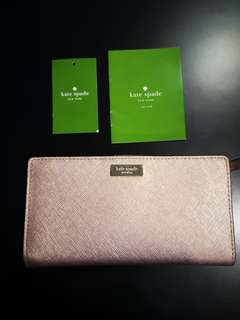 Kate Spade Stacy Wallet Rose Gold