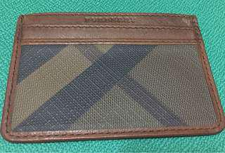 Authentic Burberry card holder new