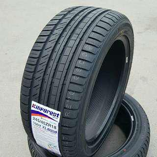 Tyre 245/45 R18 Kinforest 🙋‍♂️ The price shown is estimated
