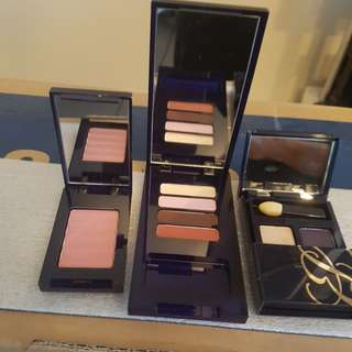 Estee Lauder Makeup Bundle - Eyeshadow x 2, Blush