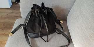 Dotti Black Bucket Bag