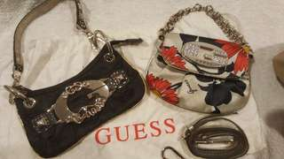 Guess Small Clutch Bags x 2