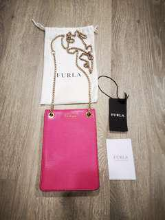 Furla Phone Pouch Pink