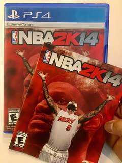 PS4 Game NBA 2K 14