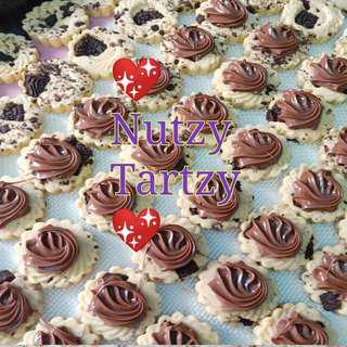 💗 Yummylicious Oreo Chunky &Nutella Tarts💗