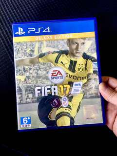PS4 Game FIFA 17 (Deluxe Edition)
