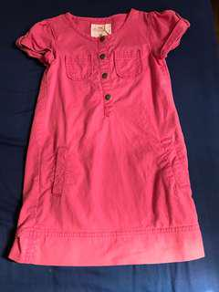 Authentic H&M pink denim dress