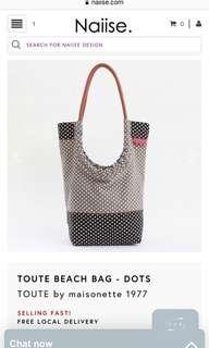 TOUTE beach bag