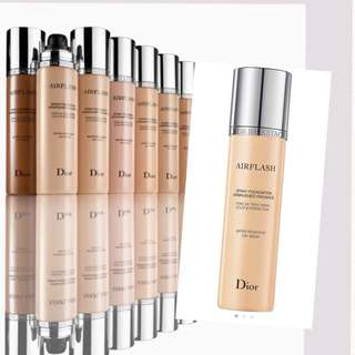 $358 Dior airflash spray foundation  噴霧粉底液 70ml