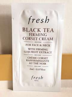 hkd14/2ml/包 fresh black tea firming corset cream 紅茶緊緻素顏面霜