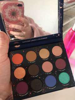 Colourpop x Kathleen lights zodiac eyeshadow palette