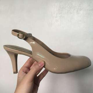 Comfort Plus Nude Shoes