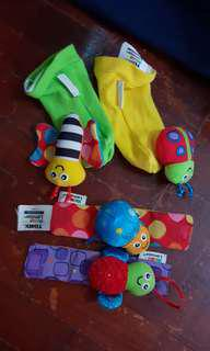 Muppet baby toys hands & feet toys