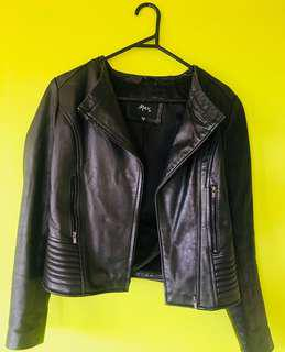 Max Leather Jacket