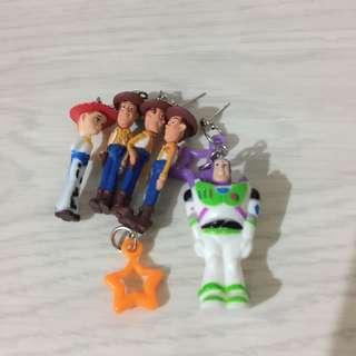 玩具總動員耳環(單隻賣