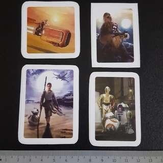 C4 Star Wars Rebel Alliance Movie Sticker Stickers