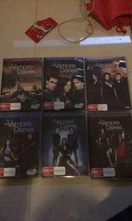 vampire diaries tv series 1-6
