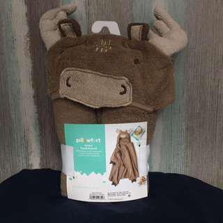 Moose Hooded Towel