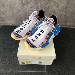 9US ADIDAS PHARRELL SOLAR HU NMD MOTHER (PINK)