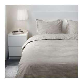 Ikea skogsalm quilt cover and 4 pillowcases