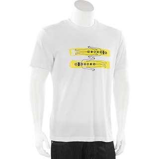 Adidas x Pharrell Williams white Graphic tee AO3023 XL