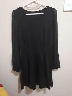 Mini dress black