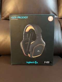 Logitech G231 耳機