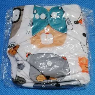 Alva cloth diaper - digital print with BAMBOO insert