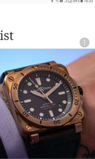 Bell & Ross Diver Bronze Limited Edition 999