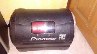 Pioneer Amp & woofer