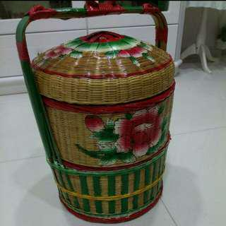 $10 过大礼。2 tiers chinese wedding basket. betrothal basket.