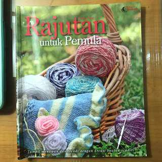 Buku Rajutan untuk pemula Menjahit - Tatha Pang