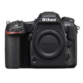Nikon D500 DSLR Camera Body Only (Online Redemption RM600 Cashback + 1+1 Extended Nikon Malaysia warranty)