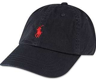 🚚 Authentic Ralph Lauren Cap w/ Red Logo