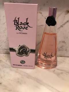 Real time black rose