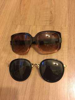 🚚 太陽眼鏡2個