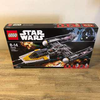 MISB Lego 75172 Star Wars Y-Wing Starfighter