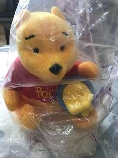 小熊維尼公仔 Winnie the Pooh X 麥當勞公仔8吋高 1999