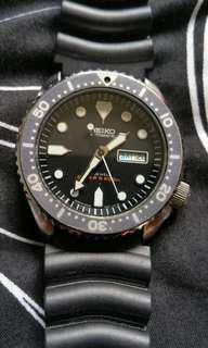 Seiko made in japan vintage automatic diver watch