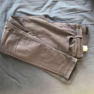 Zara men's slim fit stretch pants