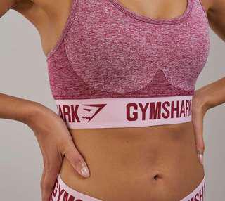 FINAL PRICE DROP! Worn Once Gymshark Flex Sports Bra in Pink