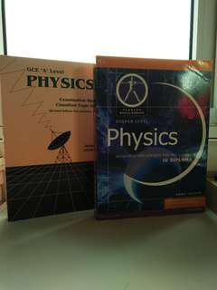 Physics books for GCSE and IB