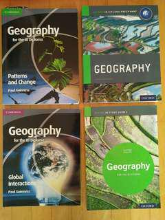 Geography textbooks for IB