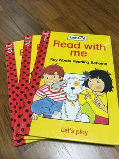 Read with me children's books by Ladybird