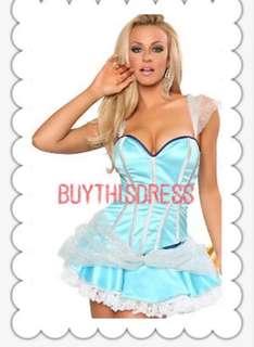 Cinderella Princess Women Costume AU size 8